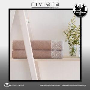 RIVIERA | SINCLAIRE Set spugna, viso ospite - Set terry towel, hand guest towel