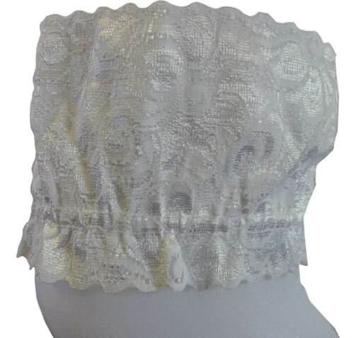 Lace Top Sheer Hold ups Super Glossy Holdup Stockings FREE UK POST kp
