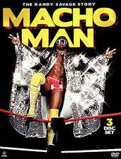 Macho Man: The Randy Savage Story 2015 DVD 3 disc set