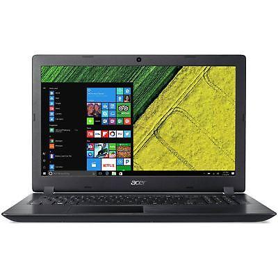 Acer A315-51 15.6 Inch HD Intel i3 2GHz 8GB 1TB Windows 10 Laptop - Black