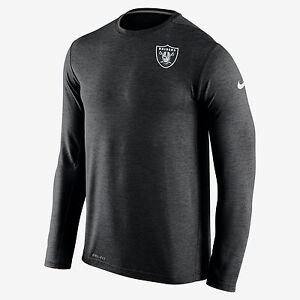 7f7971ba5 La foto se está cargando Nuevo-Hombre-Nike-Dri-Fit-Nfl-Oakland-Raiders-