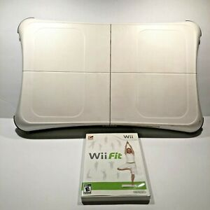 Nintendo Wii Fit Balance Exercise Board W/Game Fitness Complete Tested Org. Box
