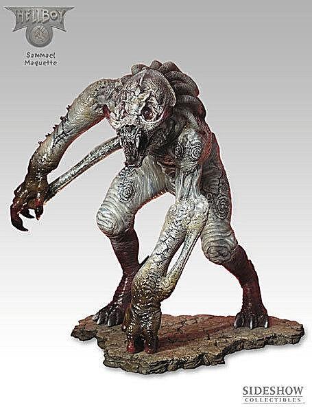 Hellboy Samael Statue 30cm Sideshow Ltd Ed 1500