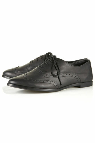Nera Brogue 4 Topshop Uk Pelle In Maths Bnwt qgXWSwgU