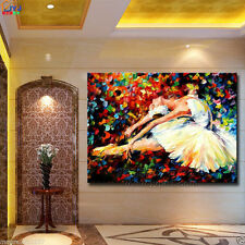 Modern Large hand-painted art Oil Painting ballet girl on canvas art NO framed