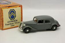 Norev Hachette 1/43 - Citroen Traction 15CV 1954 Grise