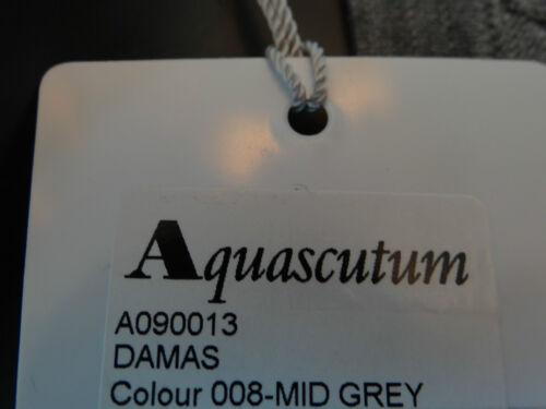 scollo con girocollo Sz Damas a lunghe a Grey maniche Maglione Bnwt L Aquascutum Donna V xwpgXqn