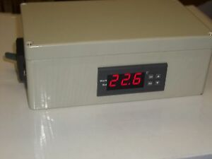 DIGITAL POWER THERMOSTAT TEMPERATURE CONTROLLER 30 AMP Relay output °F°C Timer
