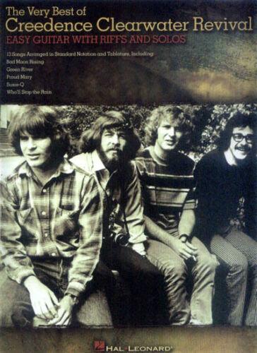 Creedence Clearwater Revival CCR Easy Guitar Songbook Noten Tab Gitarre leicht
