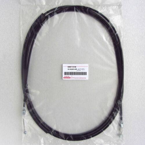 84-92 Toyota Corolla AE80 AE82 AE90 AE91 AE92 AE95 rear boot trunk release cable