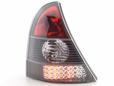BLACK REAR LIGHTS FOR RENAULT CLIO MK2 6//2001-9//2005 MODEL NICE GIFT