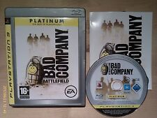 Battlefield Bad Company For PS3 Playstation 3. Boxed with manual. Pal