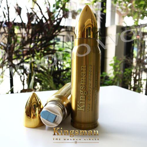 Bouteille d/'eau en acier inoxydable Voyage édition limitée Kingsman le golden film A3