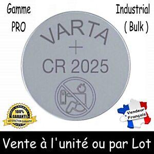 VARTA CR2025 bouton Lithium 3V à l'unité ou par 2 5 10 20 30 40 50 ou 100 piles