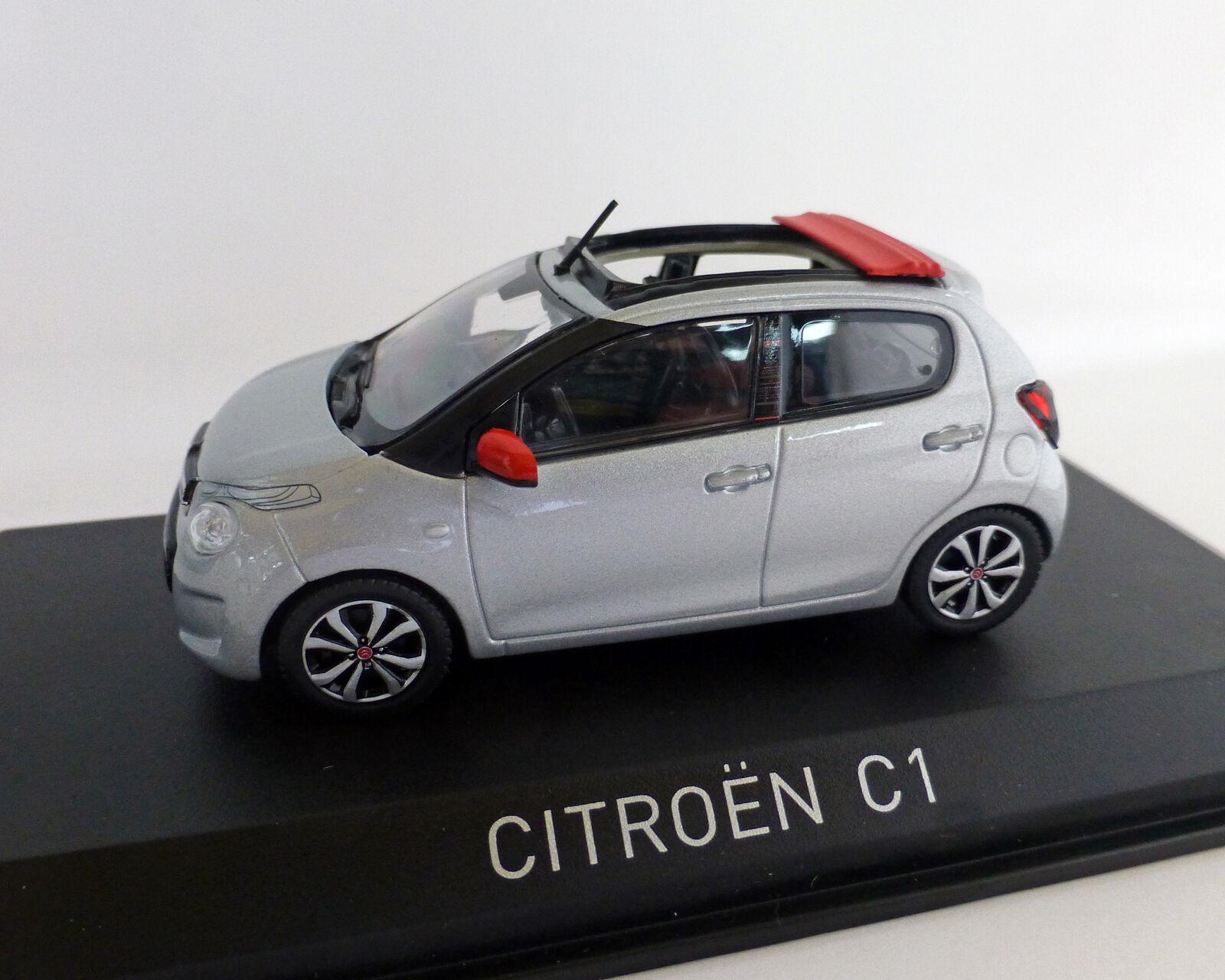 Citroen c1 Airscape 2014, 2014, 2014, norev 1 43 d91458