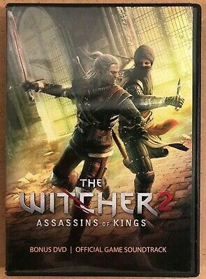 The Witcher 2 Assassins Of Kings 2011 Atari 2 Disc Dvd Soundtrack Set W Map Ebay