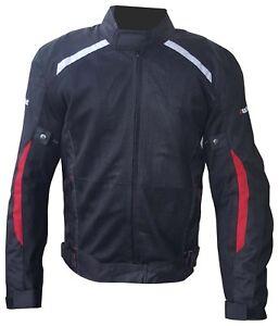 Giacca-estiva-per-moto-AUKLET-nero-bianco-E-rosso-Taglia-L-50