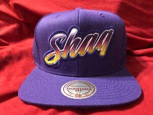 66ec9003fb6 Mitchell Ness Shaquille O Neal SHAQ snapback Hat Cap Los Angeles ...