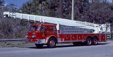 MELBOURNE, FL 1970 AMERICAN LaFRANCE AEROCHIEF/1984 GATOR 90' SNORKEL SLIDE