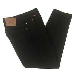 Vintage-Levis-550-Mom-Jeans-Womens-Relaxed-Fit-Tapered-Leg-Black-Size-8-Reg-S