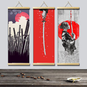 Details About Hd Canvas Painting Wall Art Poster Anese Style Home Decor Hanging Picture