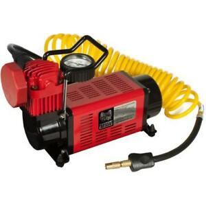 MasterFlow Tsunami MF-1050 12 Volt Portable Hi Volume Air Compressor MF1050
