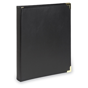 Samsill Classic Collection Executive Presentation 3 Ring Binder//Portfolio Half