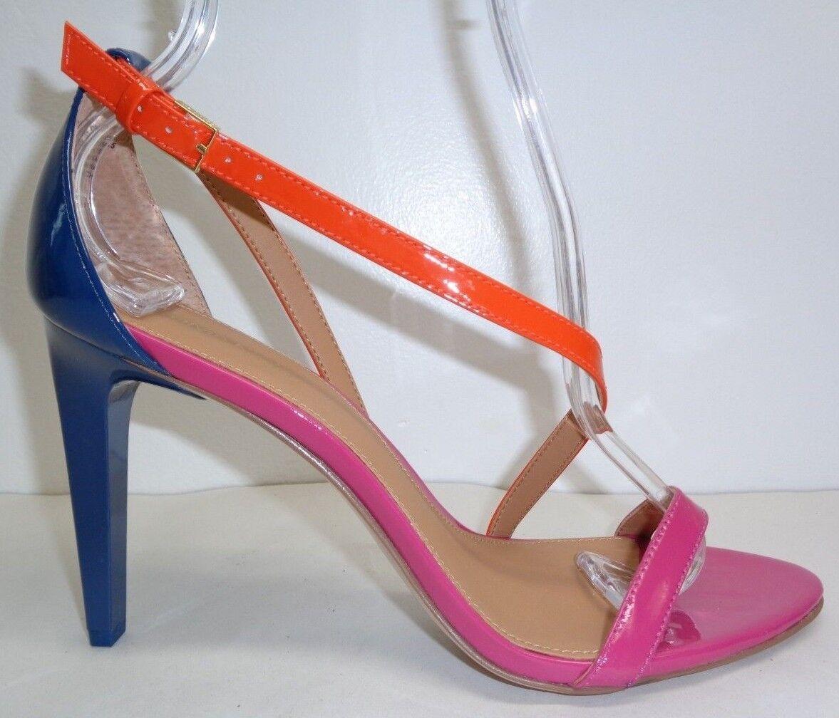 Calvin Klein Größe 8 NARELLA Jazzberry Patent Leder Sandales NEU Damenschuhe Schuhes