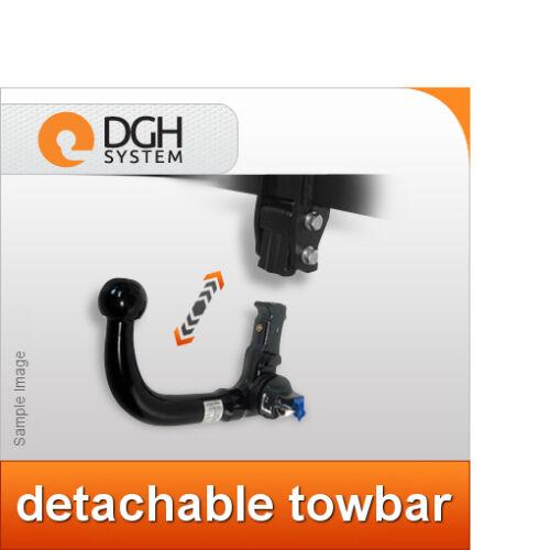 vertical Detachable towbar hook Volvo C30 2006 onwards