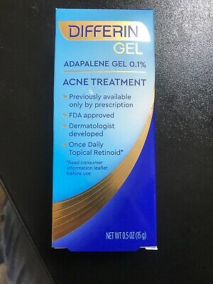 Differin Gel Acne Treatment 15g 302994920303 Ebay
