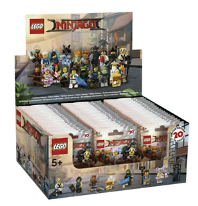 Lego-New-71019-Ninjago-Movie-Series-Sealed-Box-of-60-Minifigures-Figures-Case