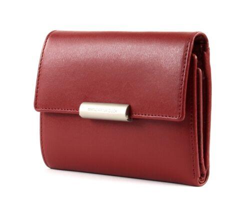 MANDARINA DUCK Hera 3.0 Wallet with Flap S Geldbörse Red Rot Neu