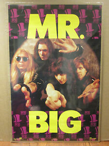 vintage Led zeppelin original Poster rock N roll 1982 4267
