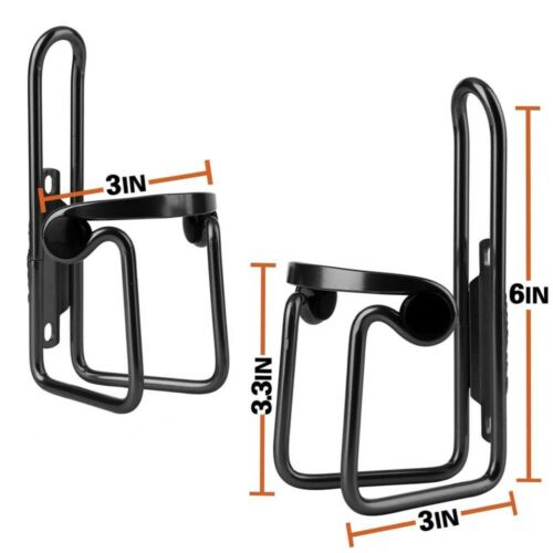 2x Bicycle Cycling Drink Water Bottle Rack Holder Cages Bottle Cup Mount Bracket