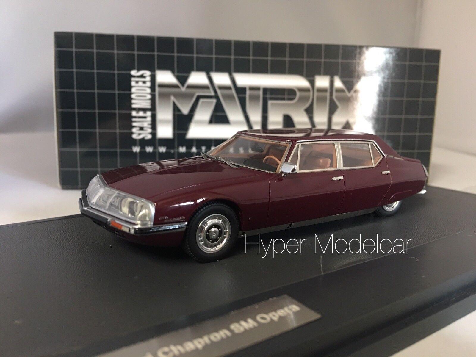 MATRIX 1 43 Citroen SM  Le Opera By Chapron 1971 Art. MX10304-012