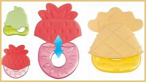 NEW-Baby-Water-Teether-039-Fruit-Hats-039-Perfect-Soothing-Teething-Toy-BPA-Free-4m