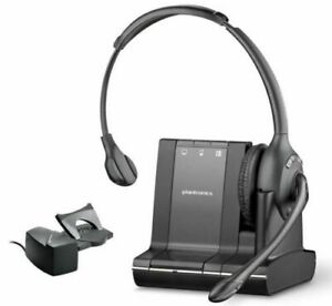 Plantronics Savi W710 Wireless Office Headset System With HL10 Sent from USA