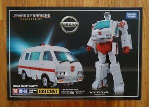 Transformers Masterpiece MP-30 Ratchet Cybertron Medic SEALED🇺🇸NEW USA!