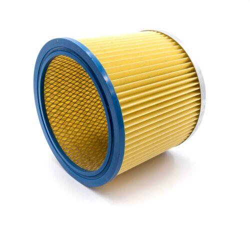 Lamellen Falten Rund Filter gelb für Einhell INOX 1250//1 INOX 1400 AS 1400 INO