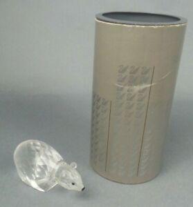 Swarovski-Crystal-Figurine-Large-Polar-Bear-7649NR085000-LOT-JP-W-Box