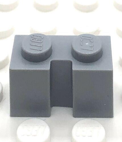 Lego 4617170 1x2 Brick With Groove Light Bluish Grey 4216 X4 Part