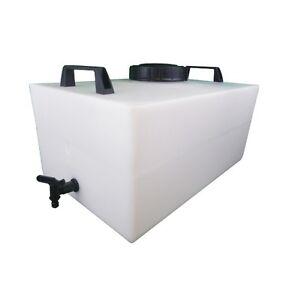 60 litre plastic water tank hozelock tap window cleaning car