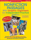 Nonfiction Passages with Graphic Organizers for Independent Practice: Grades 2-4: Selections with Graphic Organizers, Assessments, and Writing Activities That Help Students Understand the Structures and Features of Nonfiction by Alice Boynton, Wiley Blevins (Paperback / softback, 2005)