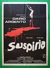 M22 MANIFESTO 2F SUSPIRIA DARIO ARGENTO 1 EDIZIONE ITALIANA 1977 HARPER BOSE'
