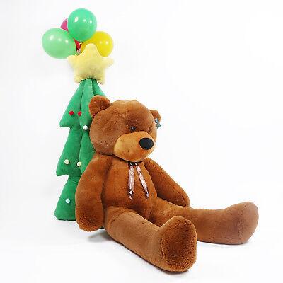 "Joyfay® 39/"" Giant Brown Sleepy Bear Stuffed Plush Toy 100cm Valentine Gift"