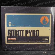 THREEA Valve's Team Fortress 2 – Robot Pyro Blue Action Figure