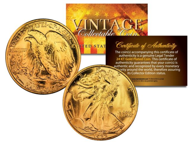 COMMEMORATIVE COIN DONALD TRUMP 2016 LIBERTY 24KT GOLD PLATED FAST U.S SHIP**