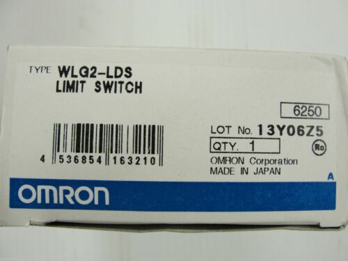 New Omron Limit Switch WLG2-LDS