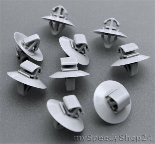 50x barre laterali BARRE ornamentali Clip di Fissaggio Opel Vivaro IVECO RENAULT TRAFIC