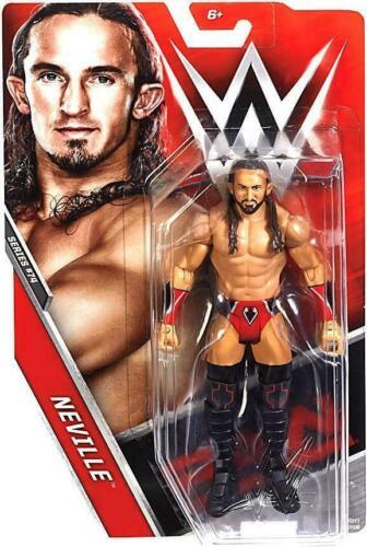 Mattel WWE Basic Serie 74 Neville card non Menta